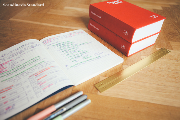 Danish Gyldendal Dictionaries and Homework with the Golden Rule | Scandinavia Standard