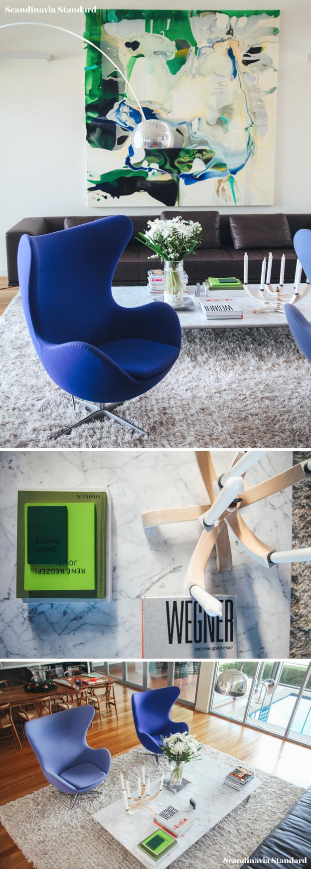 The White Room McOmish House Living Room   Scandinavia Standard