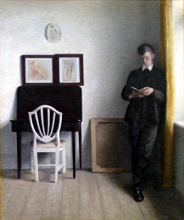 Vilhelm_Hammershøi_1898_-_Interiør_med_læsende_ung_mand-2