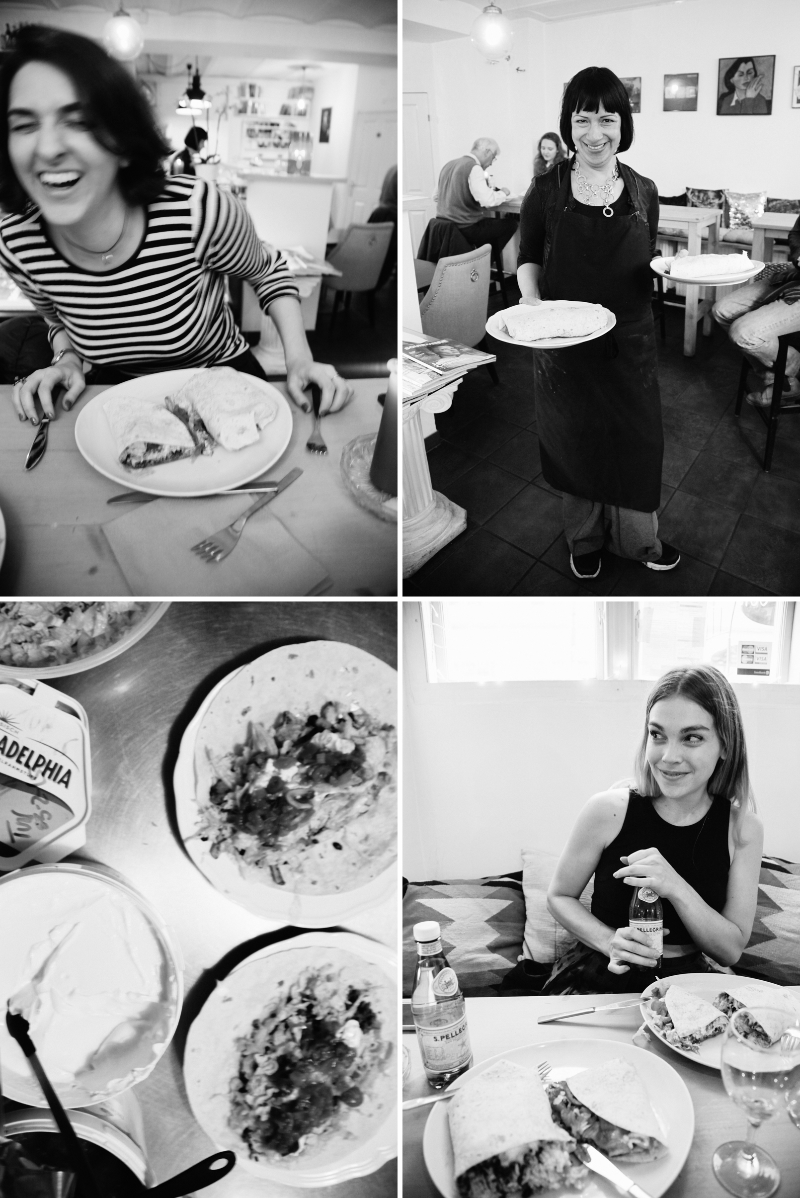 Rebecca, Freya, Miriam - B&W at Taste of San Fransisco | Scandinavia Standard