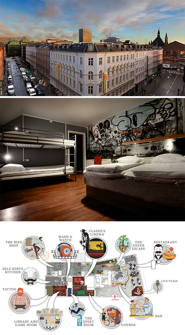 Where to Stay - Hotels in Vesterbro Copenhagen - Urban House | Scandinavia Standard copy
