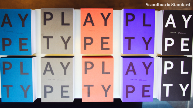 Calendar For Typography Nerds : Playtype typography foundry in copenhagen