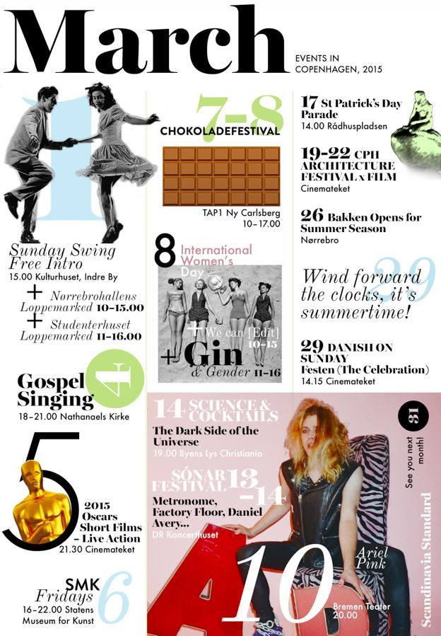 What's On in Copenhagen - March 2015 Events Calendar | Scandinavia Standard