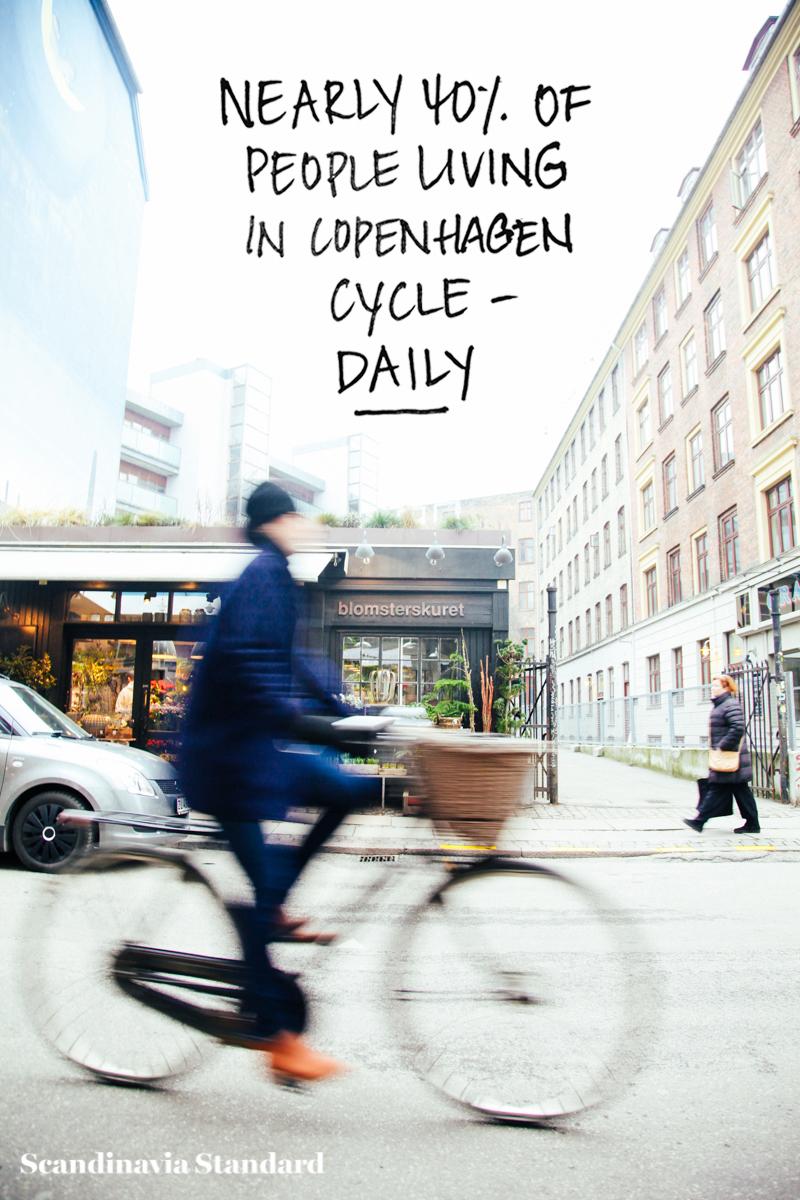 Nearly 40% of People living in Copenhagen cycle daily! Biking in Vesterbro Copenhagen | Scandinavia Standard
