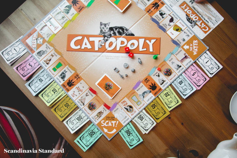 Catopoly - Cat Cafe Meow Copenhagen   Scandinavia Standard
