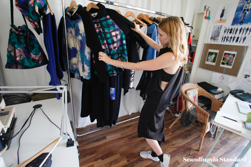 Katie checking out the dresses - Ambra Fiorenza   Scandinavia Standard