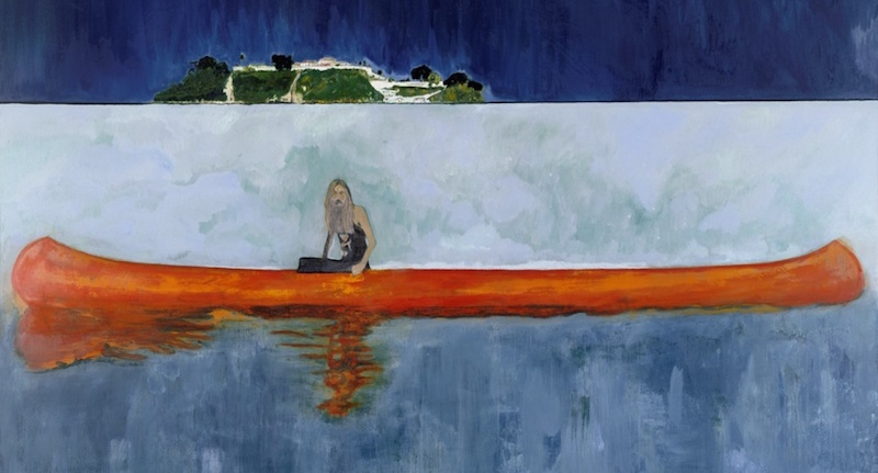 Peter Doig is a metamodernist Scottish painter best known for his slightly abstracted and layered landscapes, is one of the most renown living artists today