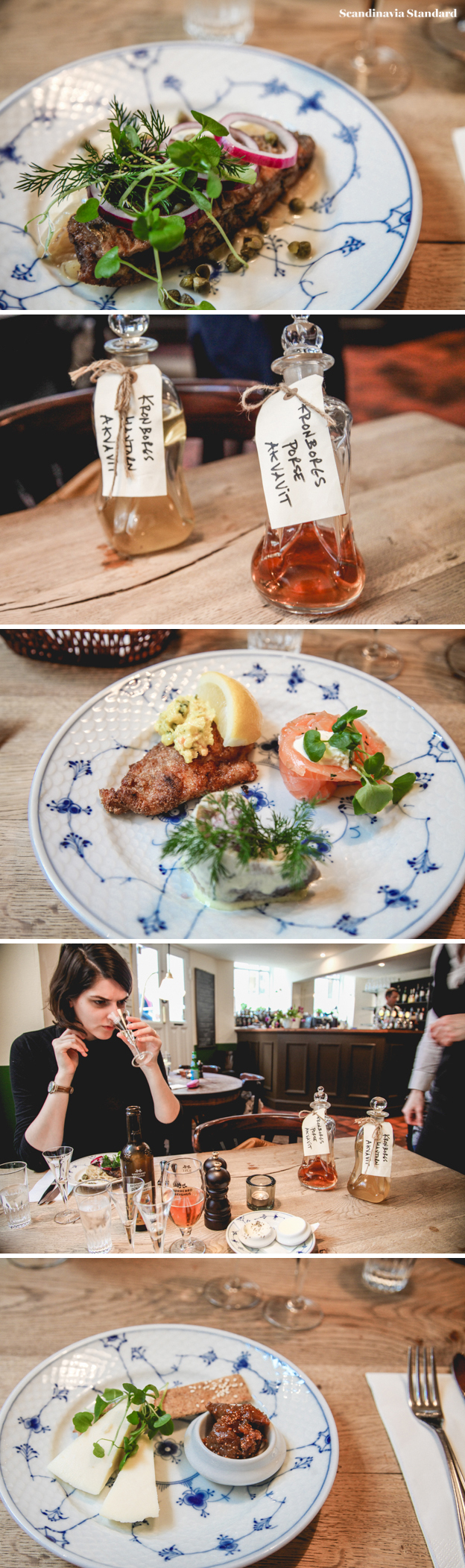 Restaurant Kronborg Collage - Danish Easter Lunch - Påskefrokost | Scandinavia Standard