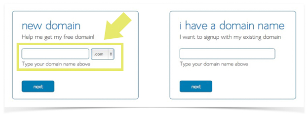 STEP 1 Choosing a Domain Name at Blue Host - A Very Scandi Guide to Creating Your Own Blog   Scandinavia Standard
