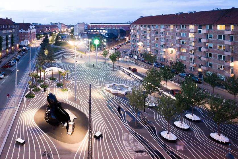 Superkilen via e-architect.co.uk | Scandinavia Standard