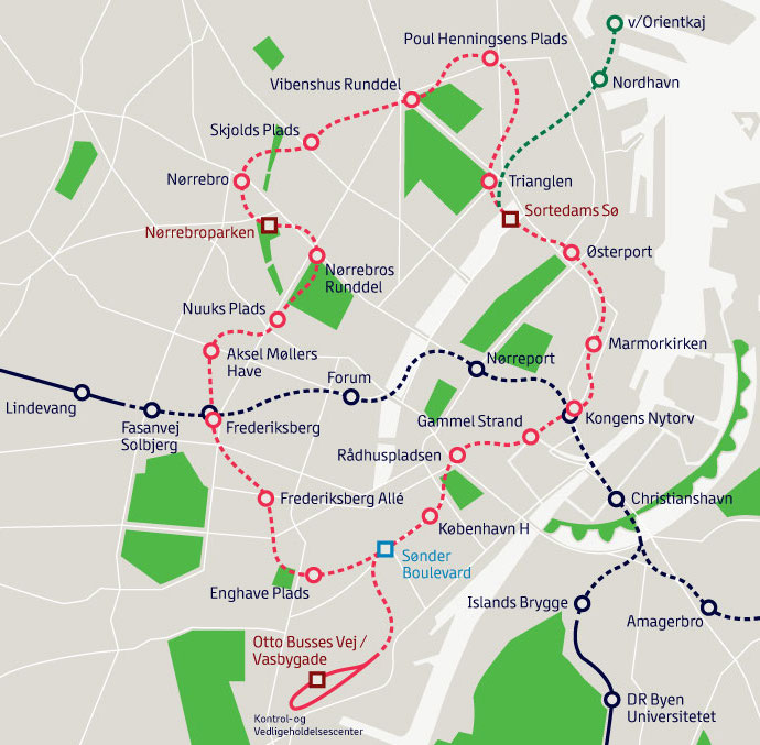 The new Metro ring or circle line in the centre of Copenhagen is really exciting! Check out the contruction plan here | Scandinavia Standard
