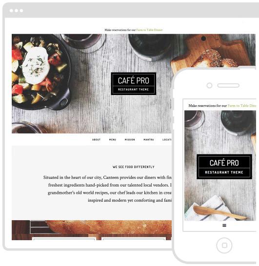 Wordpress Theme - Café Pro Theme - Restaurant - Studio Press - A Very Scandi Guide to Creating Your Own Blog | Scandinavia Standard