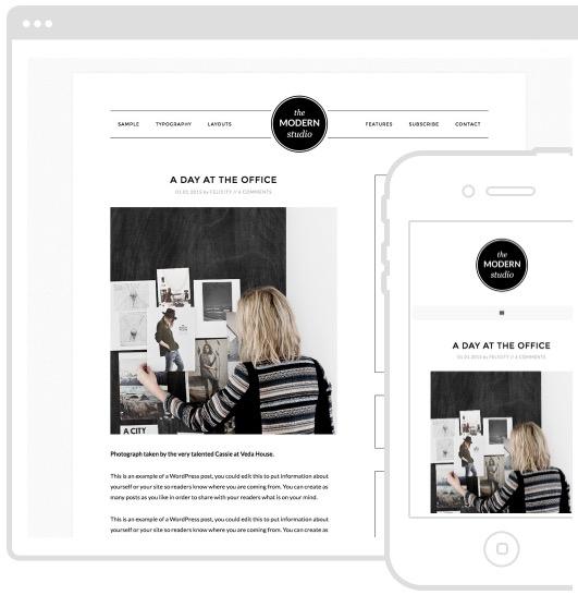 Wordpress Theme - Modern Studio Pro Theme - Studio Press - A Very Scandi Guide to Creating Your Own Blog | Scandinavia Standard