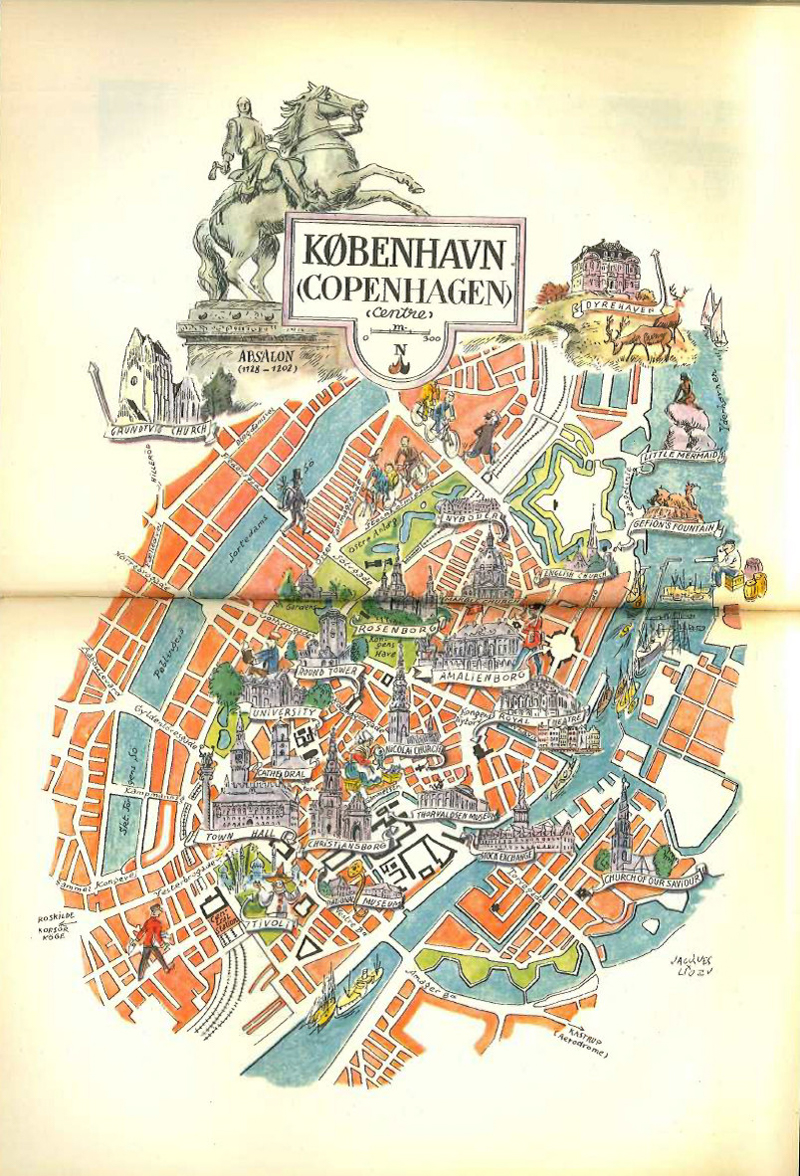 1950s vintage copenhagen map illustration from hildalea 81 dkk 1950s vintage copenhagen map illustration from hildalea 81 dkk etsy scandinavia standard gumiabroncs Images