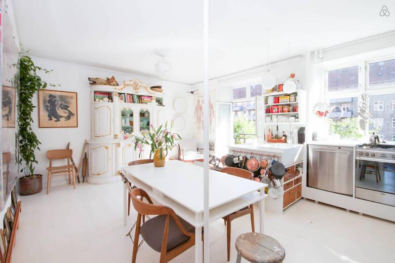 2. Airbnb Apartment The Designers Nest Nørrebro Copenhagen | Scandinavia Standard