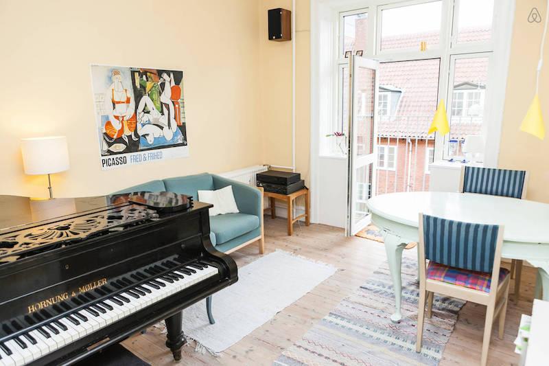 2. Airbnb Apartment unique apt. in copenhagen Nørrebro Copenhagen | Scandinavia Standard