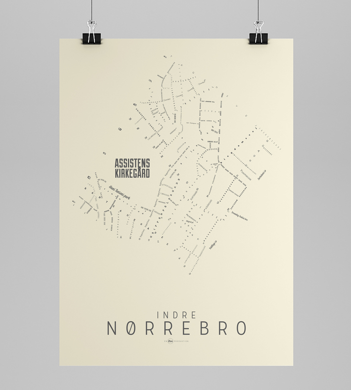 Art Rebels Nørrebro Map