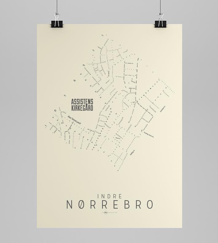 Art Rebels Nørrebro Map