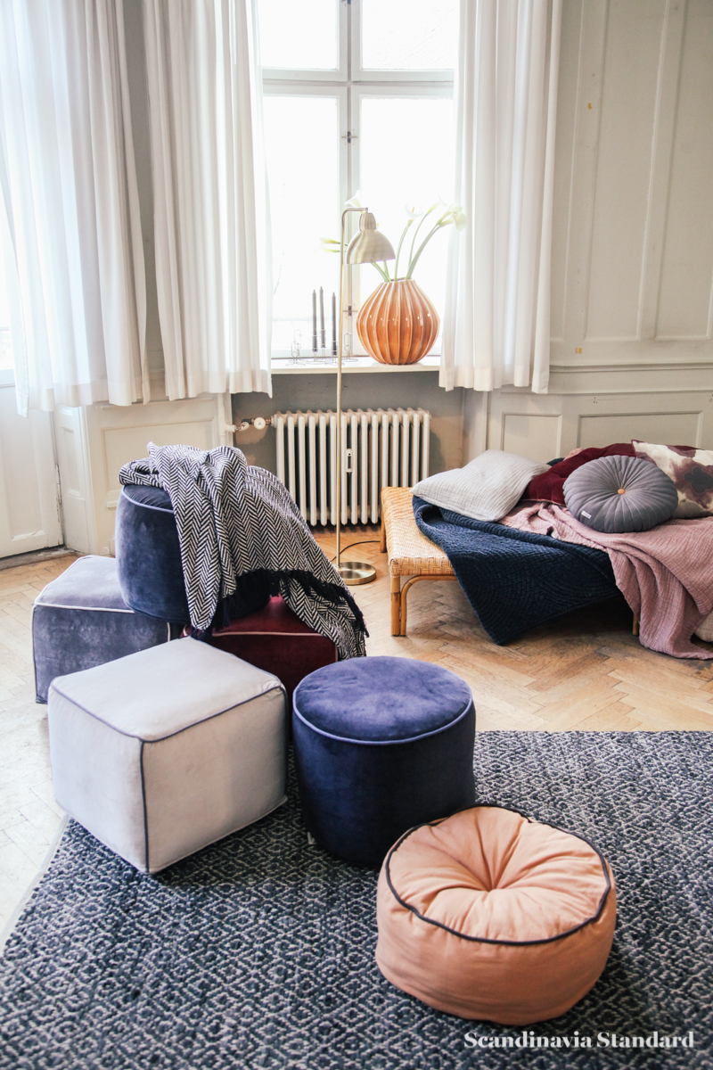 Broste Copenhagen - Danish Design without the Price Tag - Cushions and Day Bed - Autumn Winter 2015 Sneak Peak | Scandinavia Standard