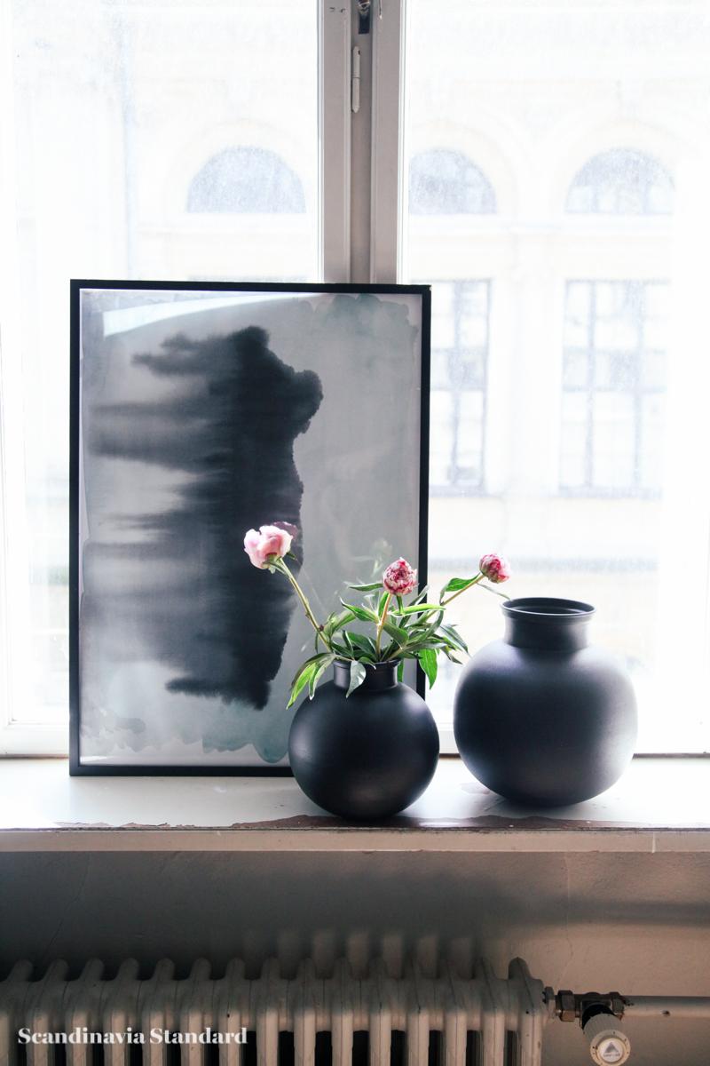 Broste Copenhagen - Danish Design without the Price Tag - Window Sill - Vases - Picture Frame - White Room - Autumn Winter 2015 Sneak Peak | Scandinavia Standard