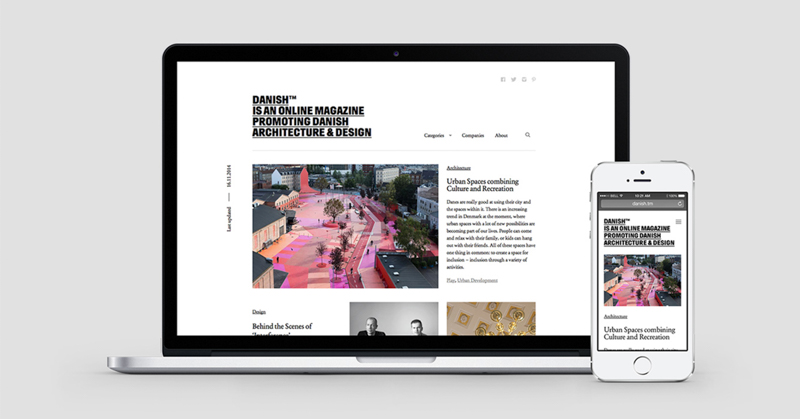 DANISH TM Design Website Copenhagen x Frame Magazine