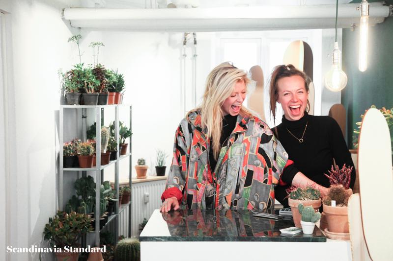 Kaktus Copenhagen - Cille & Maja, shop owners, Jægersborggade | Scandinavia Standard