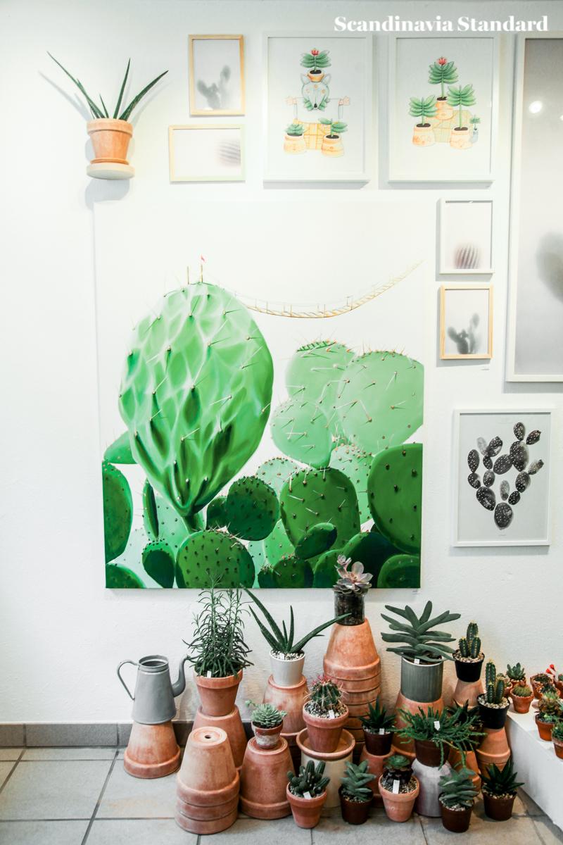 Kaktus Copenhagen - Vertical Display - Jægersborggade | Scandinavia Standard