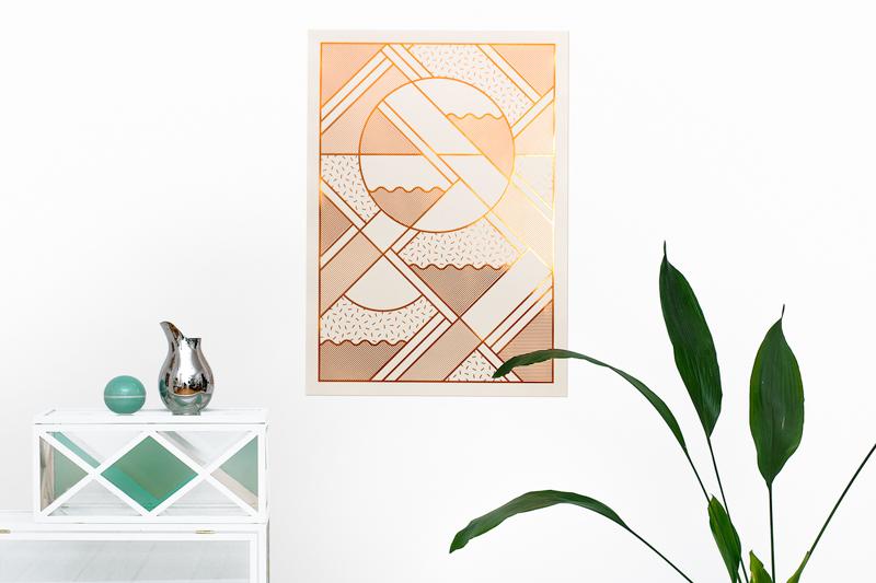 Kristina Krogh - Levels Graphic Poster   Scandinavia Standard