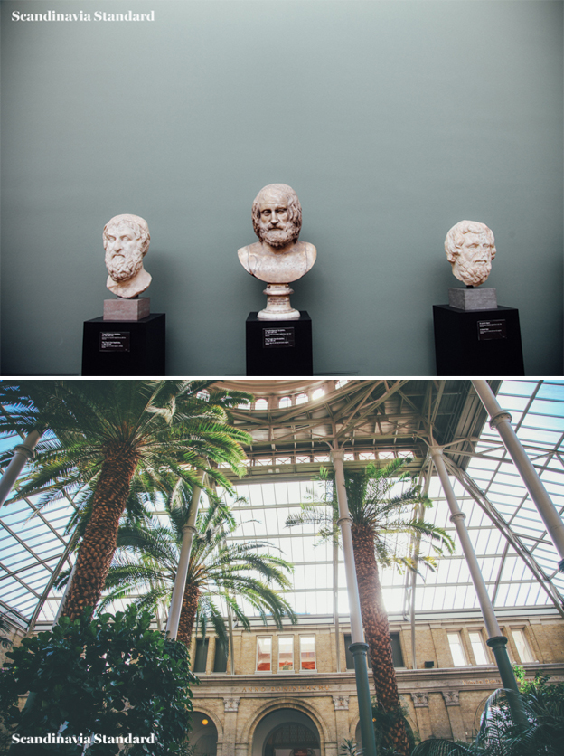 Visit the Glypoteket in Copenhagen - Beautiful Palm Trees and Busts | Scandinavia Standard