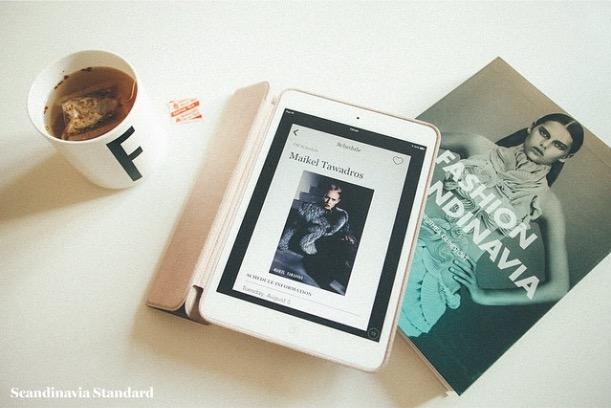 iPad - Sleeping in Sweden and Denmark - Bright Midnight Light - Turn Off Devices - Arne Jacobsen Mug | Scandinavia Standard