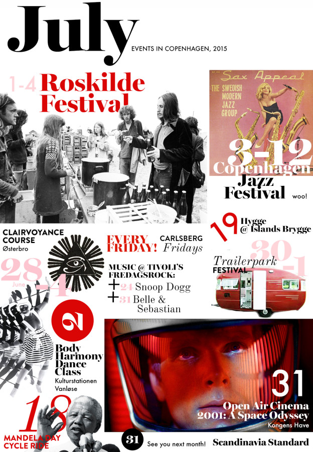 July 2015 Copenhagen Event Calendar | Scandinavia Standard
