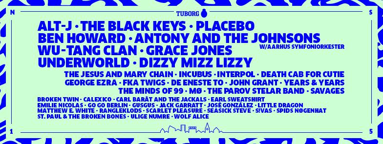 Northside Festival Lineup 2015 - What's on in Copenhagen | Scandinavia Standard Event Calendar
