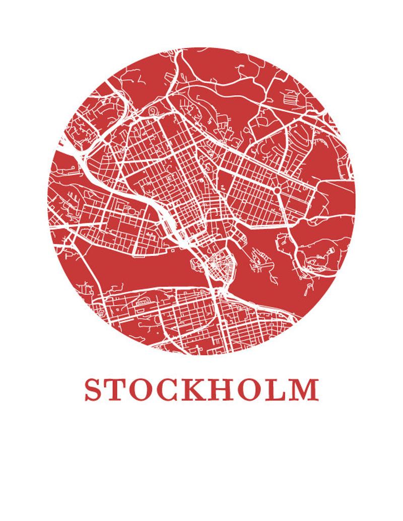 Omaps Stockholm Map