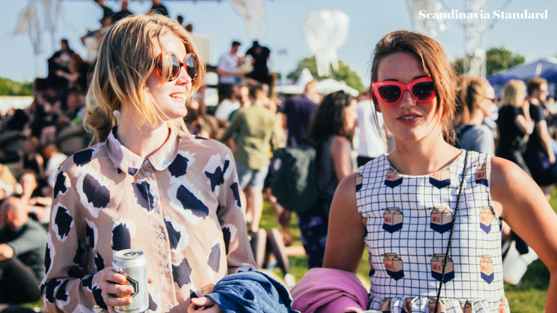 Partying at Northside Festival Best Music Festival Denmark | Scandinavia Standard