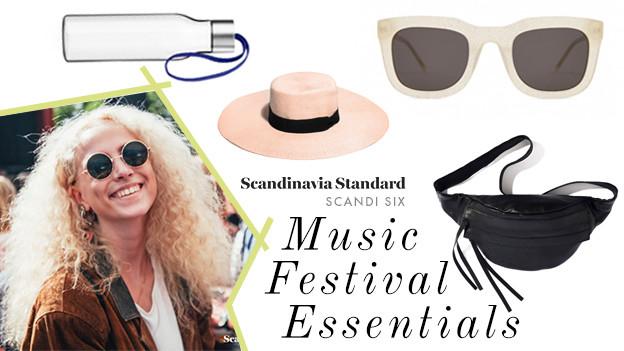 SCANDI SIX Music Festival Essentials