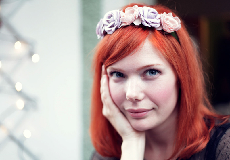 Swedish Midsummer - Flowers in Hear - Flower Crown - Emily Dahl | Scandinavia Standard