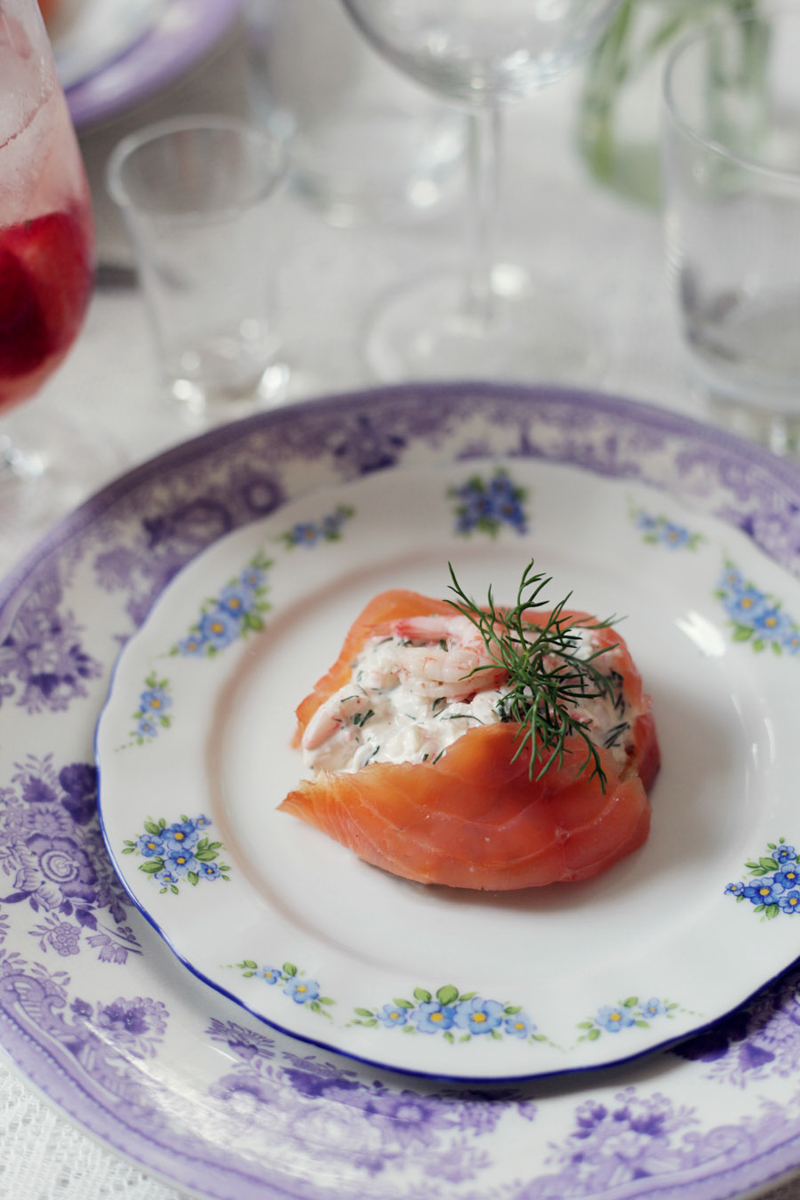 Swedish Midsummer - Salmon Meal - Emily Dahl | Scandinavia Standard