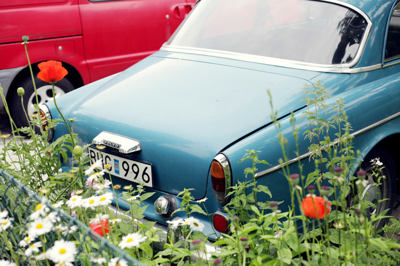 Swedish Midsummer - Vintage Car - Strawberry Cocktail - Emily Dahl | Scandinavia Standard