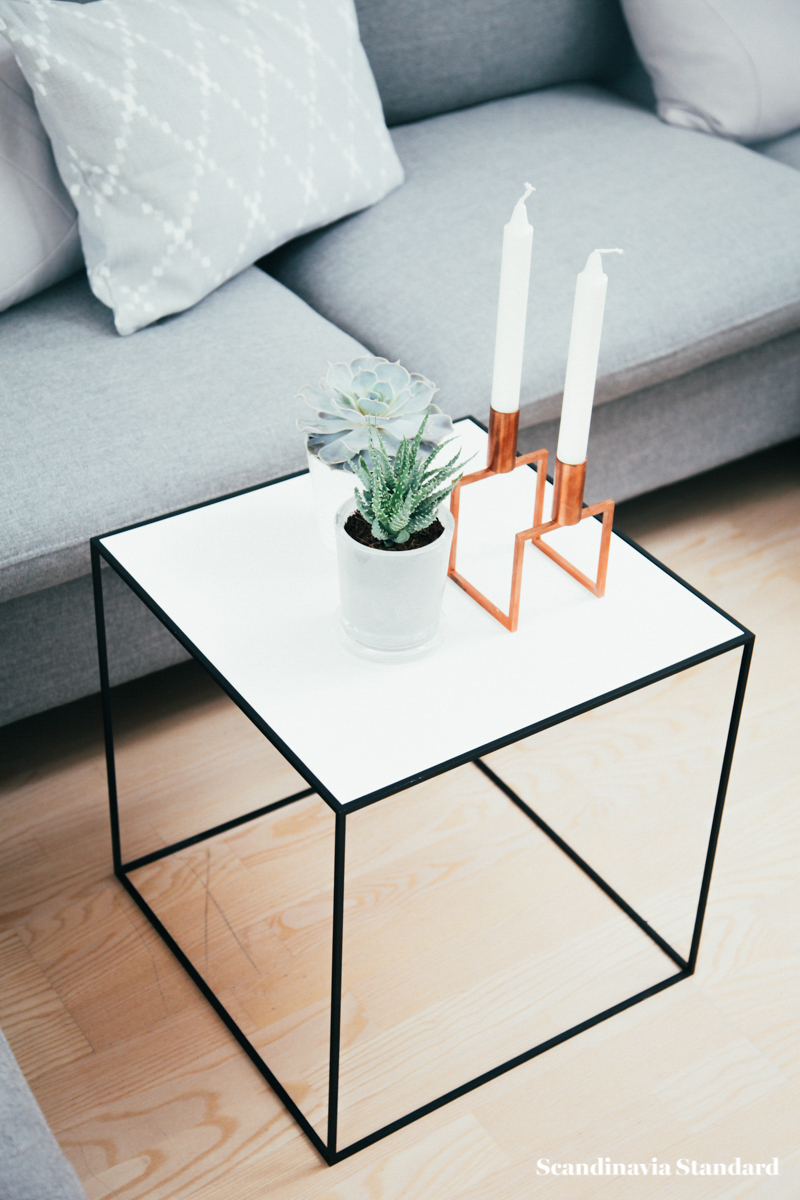 The White Room - Christina & Ulrich's Østerbro Apartment - Interiors - By Lassen Coffee Table | Scandinavia Standard