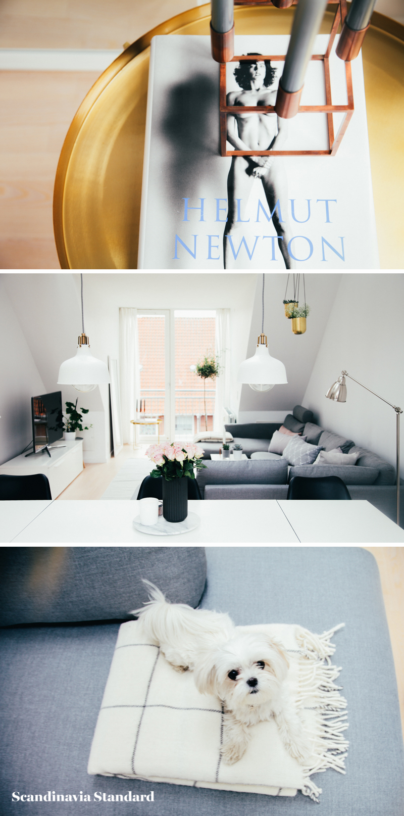 The White Room - Christina & Ulrich's Østerbro Apartment - Interiors - Collage 1 | Scandinavia Standard