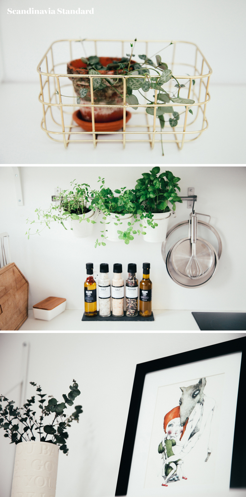 The White Room - Christina & Ulrich's Østerbro Apartment - Interiors - Collage 3 | Scandinavia Standard