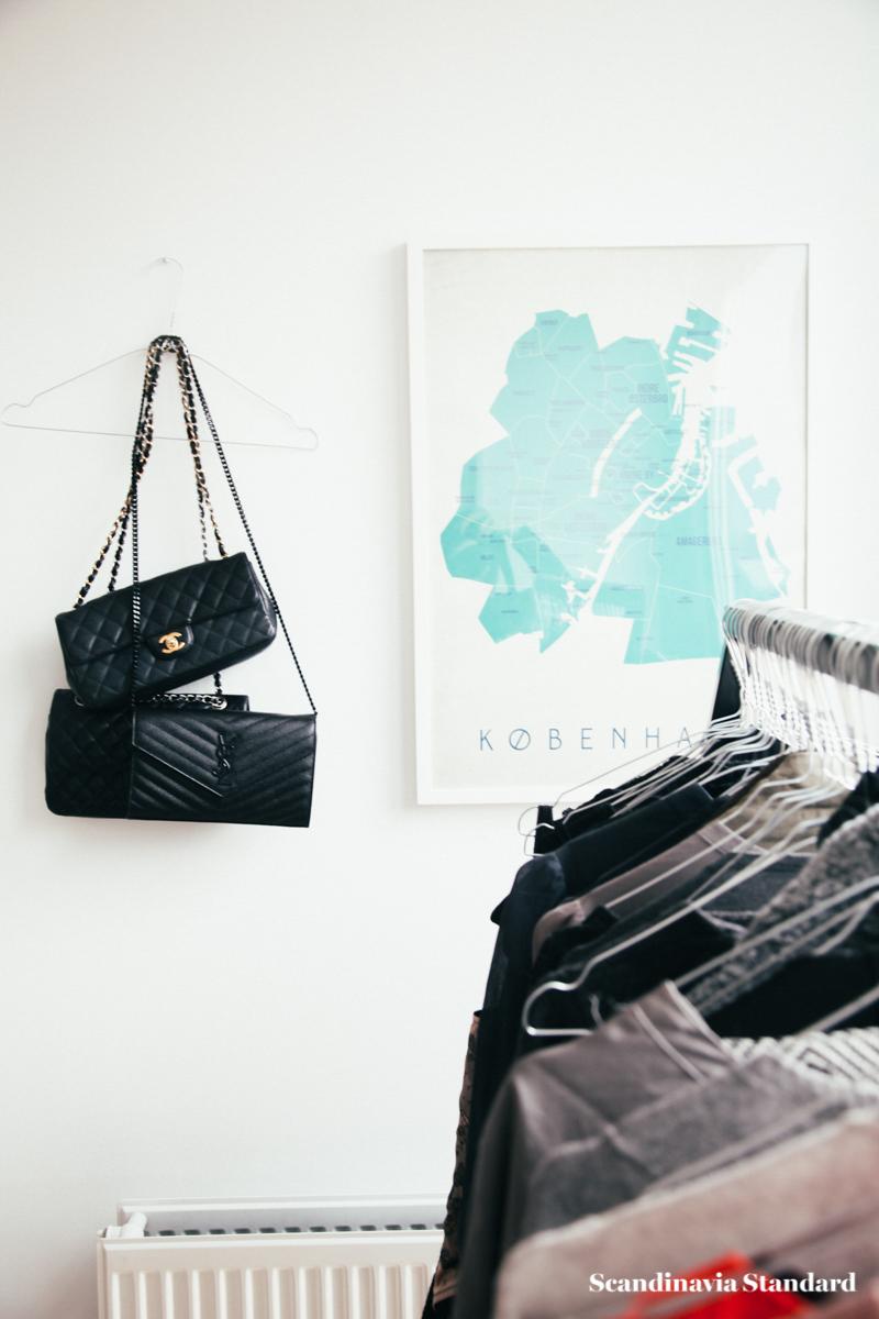 The White Room - Christina & Ulrich's Østerbro Apartment - Interiors - Wardrobe + Chanel + YSL + in Copenhagen | Scandinavia Standard