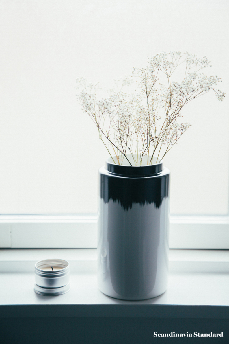 The White Room - Christina & Ulrich's Østerbro Apartment - Interiors - Window Vase | Scandinavia Standard
