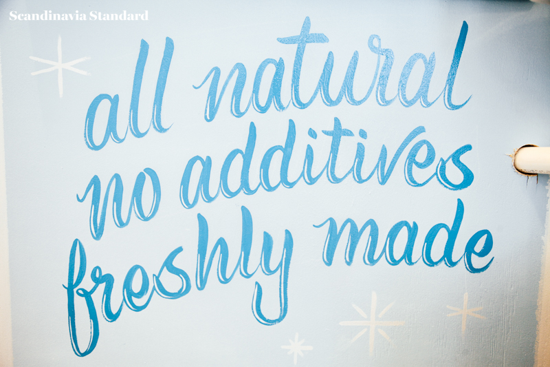 All Natural No Additives Nitrogen Icecream | Scandinavia Standard