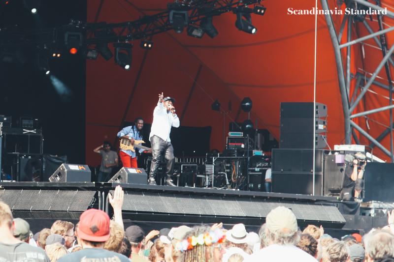Barrington Levy sings at Roskilde Festival | Scandinavia Standard