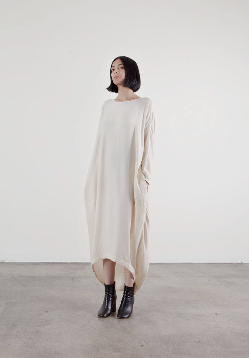 Black Crane - Cocoon dress - Scandi Dandies | Scandianvia Standard