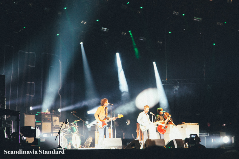 Close Up of Noel Gallagher's High Flying Birds at Roskilde Festival 2015 | Scandinavia Standard