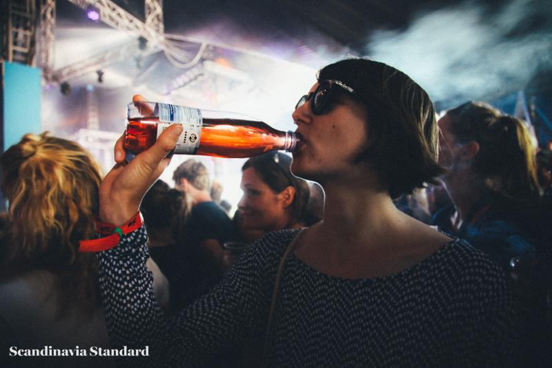Father John Misty - Drinking at Roskilde Festival | Scandinavia Standard