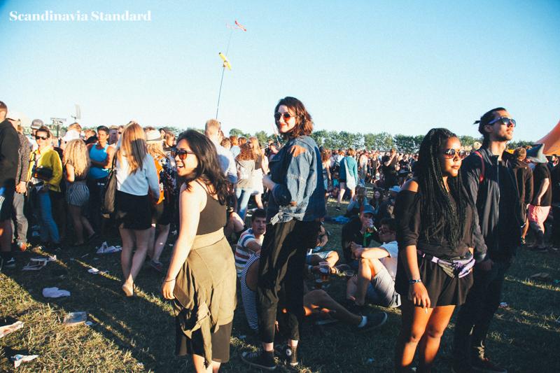 Florence - Rebecca and Sheila leaving Florence + the Machine | Scandinavia Standard