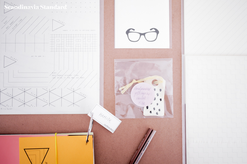 Hamide Flatlay of Stationary | Scandinavia Standard